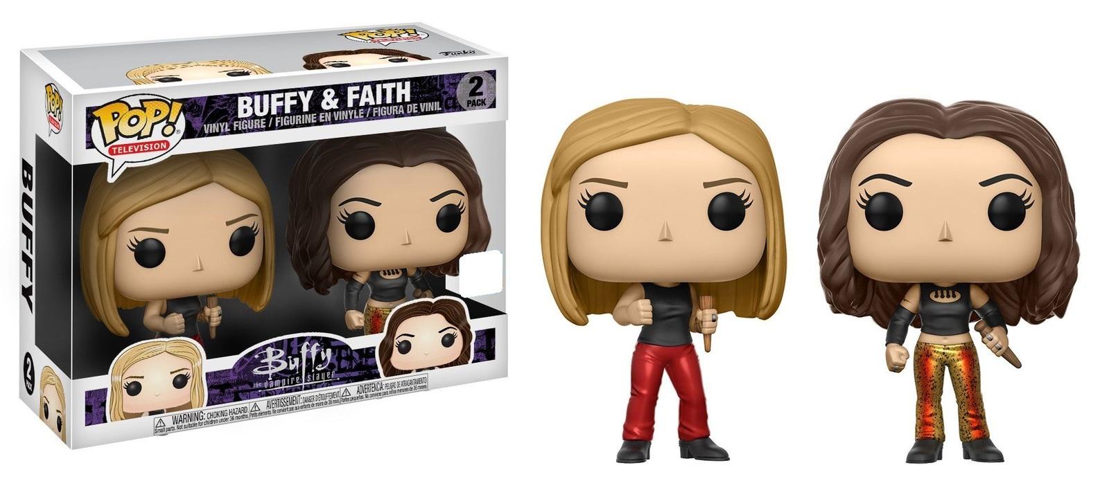 Buffy & Faith - Pop! Vinyl 2-Pack (LIMIT - ONE PER CUSTOMER) image
