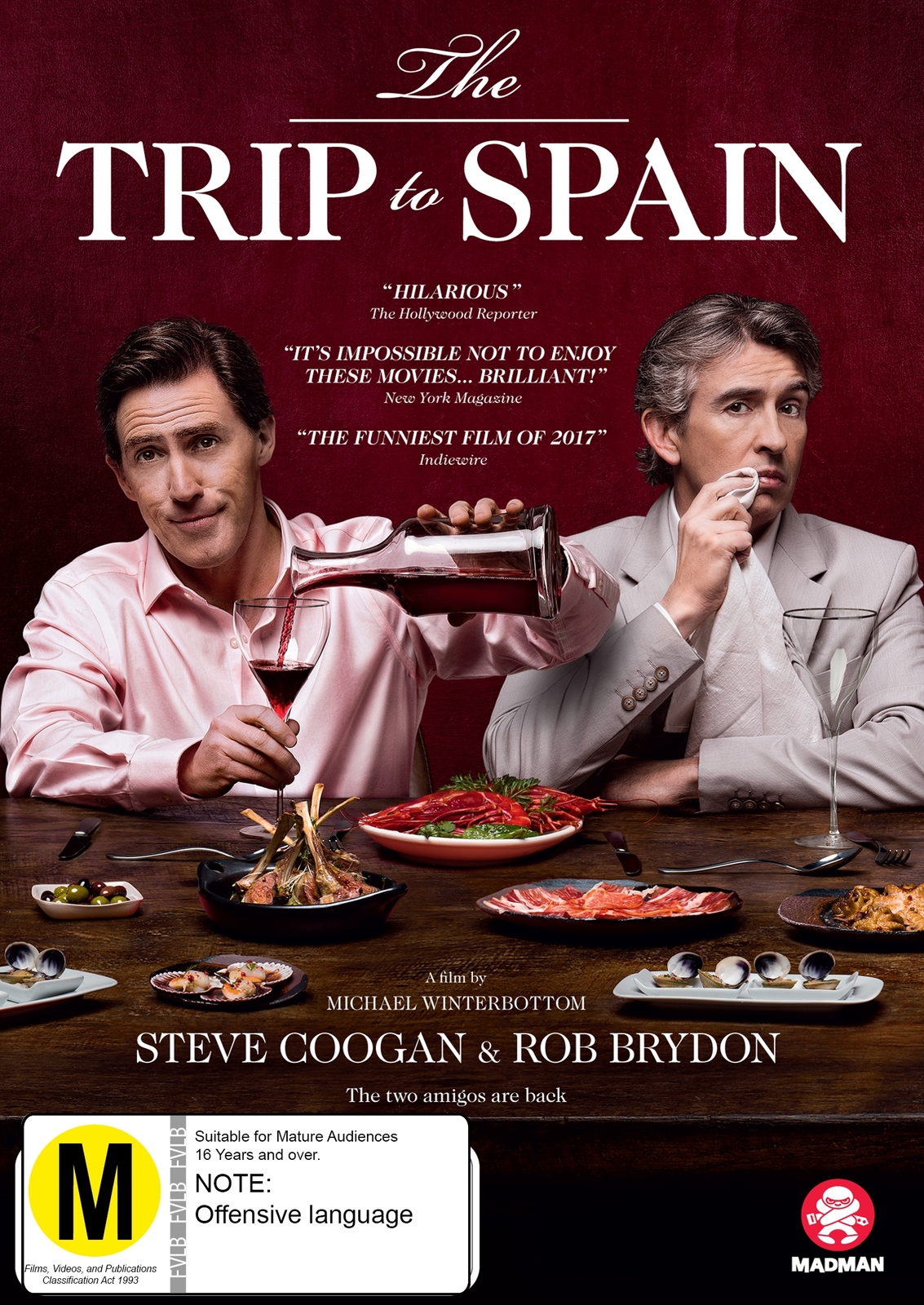 The Trip To Spain on DVD image