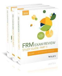 Wiley 2018 Part II FRM Exam Study Guide & Practice Question Pack by Wiley