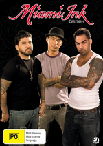 Miami Ink - Collection 4 (Discovery Channel) (3 Disc Set) on DVD