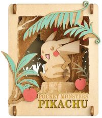 Pokemon Paper Theater Pikachu Mikke