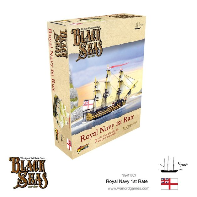 Black Seas: Royal Navy 1st Rate