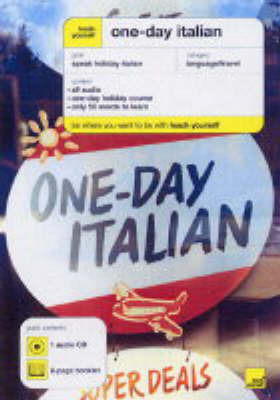 Teach Yourself One-day Italian by Elisabeth Smith image