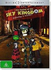 The Legend Of Sky Kingdom on DVD