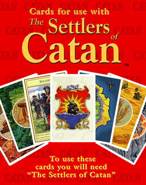 Settlers of Catan: Replacement Game Cards