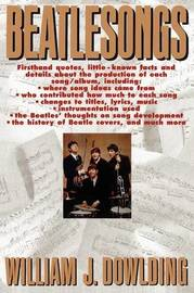 Beatlesongs by William J. Dowlding image