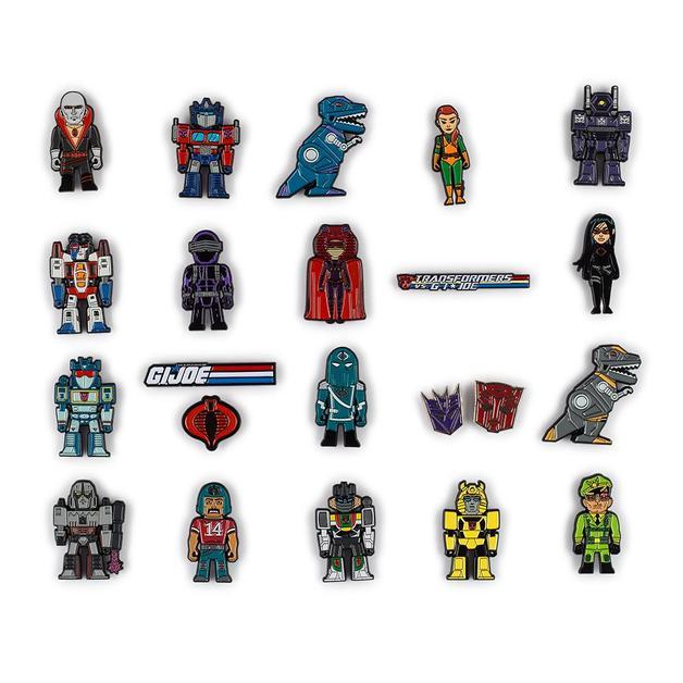 Transformers vs. G.I. Joe - Enamel Pin (Blind Bag)
