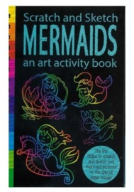 Scratch & Sketch: Activity Book - Mermaids image