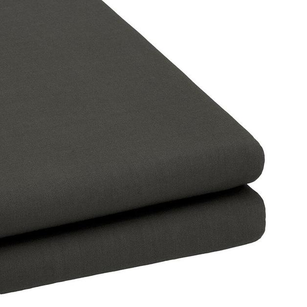 Bambury Tru Fit Fitted Sheet Queen (Charcoal)