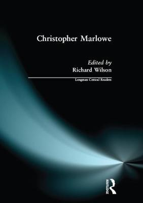 Christopher Marlowe by Richard Wilson image