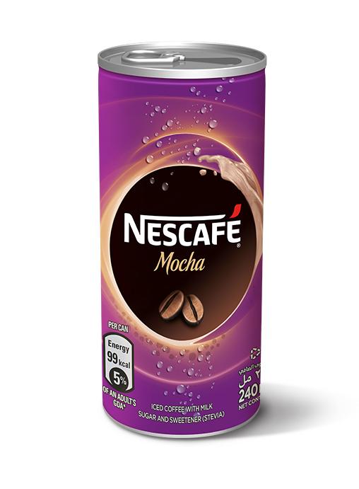 Nescafe Mocha Cans 240ml 24pk