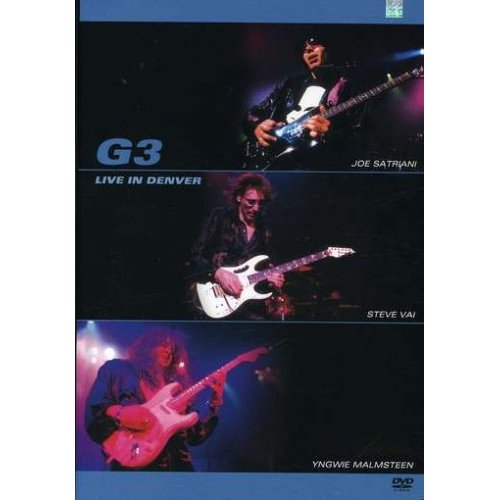 G3 - Live In Denver on DVD image