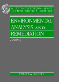 Encyclopedia of Environmental Analysis and Remediation by R.A. Meyers image