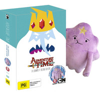 Adventure Time - The Complete Second Season with Plush Toy on DVD