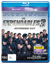 The Expendables 3 on Blu-ray, UV