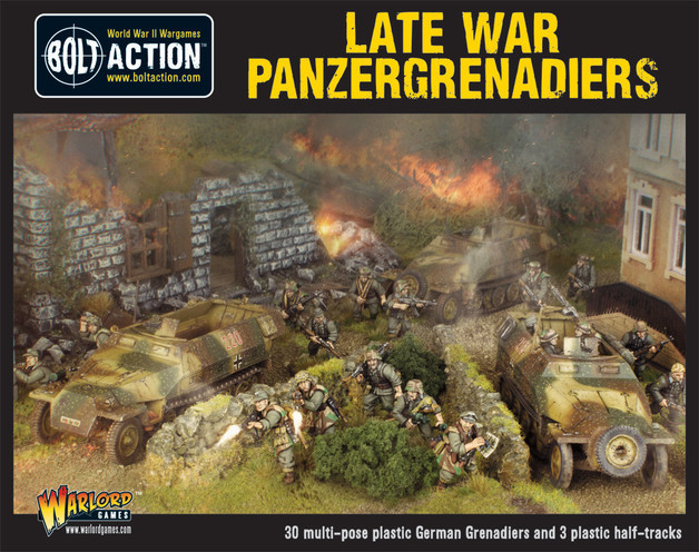Late War Panzergrenadiers (30+3 Hanomags)