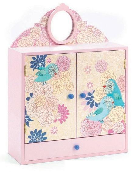 Djeco: Romantic Birds Wardrobe