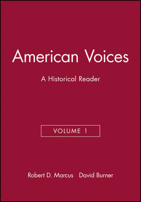 American Voices, Volume 1 image