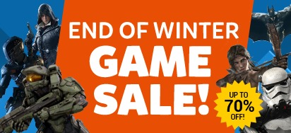 End of Winter Game Sale