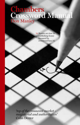 Crossword Manual by Don Manley