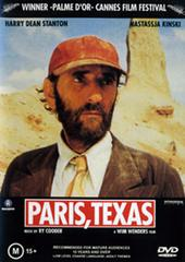 Paris, Texas on DVD