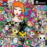 Tokidoki 2018 Wall Calendar by Simone Legno