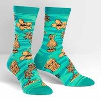 SOCK it to Me: Womens Crew Socks - Tiki Toes