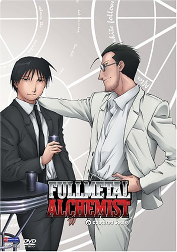 Fullmetal Alchemist Vol 06 - Captured Souls on DVD image