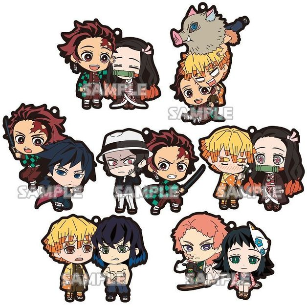 Demon Slayer: Rubber Strap Duo - Blind Box