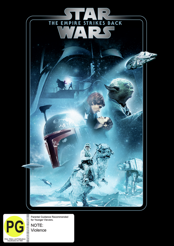 Star Wars: Episode V - The Empire Strikes Back on DVD