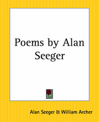 Poems by Alan Seeger by Alan Seeger image
