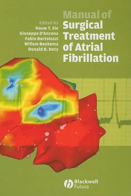 Manual of Surgical Treatment of Atrial Fibrillation image