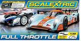 Scalextric Full Throttle 1/32 Slot Car Set