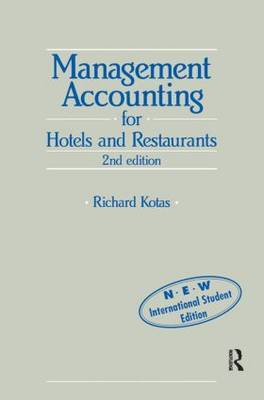 Management Accounting for Hotels and Restaurants by Richard Kotas image