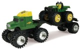John Deere: Monster Treads Semi Set - Green