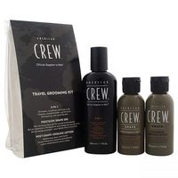 American Crew Travel Grooming Kit (3pc)