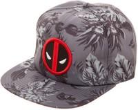 Marvel: Deadpool - Mono Floral Snapback Cap
