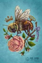 Bee Love Journal (Large) by Brigid Ashwood