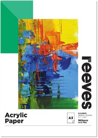 Reeves: Acrylic Painting Pad - A3