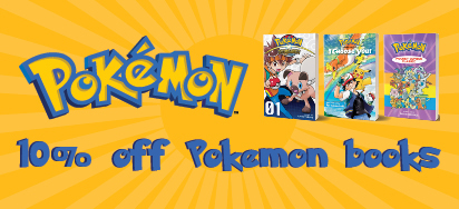 10% off Pokemon Books