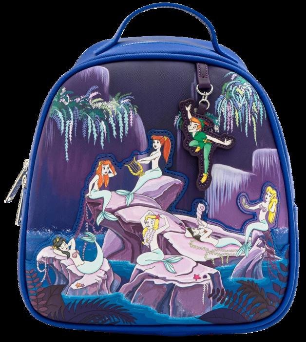 Loungefly: Peter Pan - Mermaids Mini PU Backpack