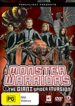 Monster Warriors - Vol. 1: The Giant Spider Invasion on DVD