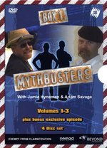 Mythbusters - Box 1: Vol. 1-3 (4 Disc Box Set) on DVD