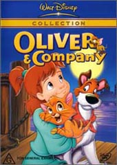 Oliver & Company on DVD