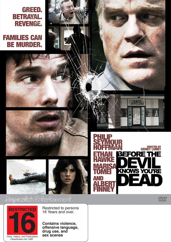 Before The Devil Knows You're Dead on DVD