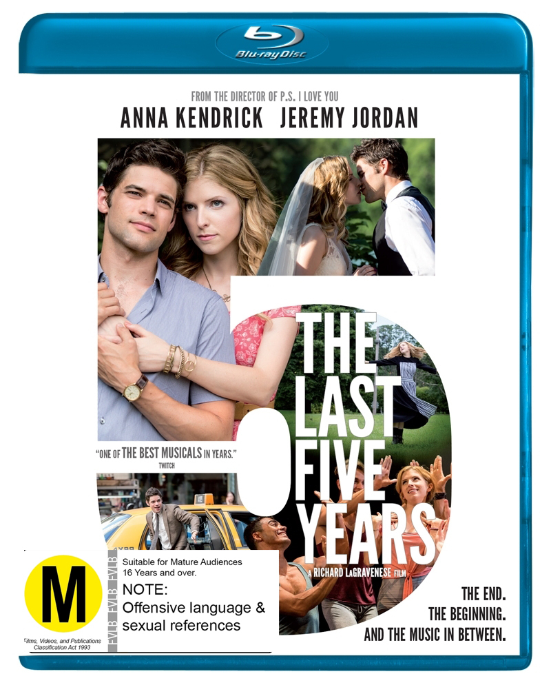 The Last 5 Years on Blu-ray image