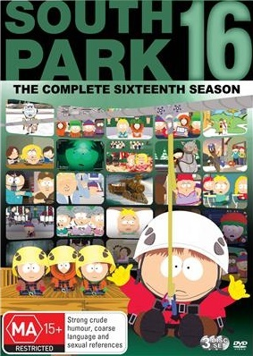 South Park - The Complete 16th Season on DVD