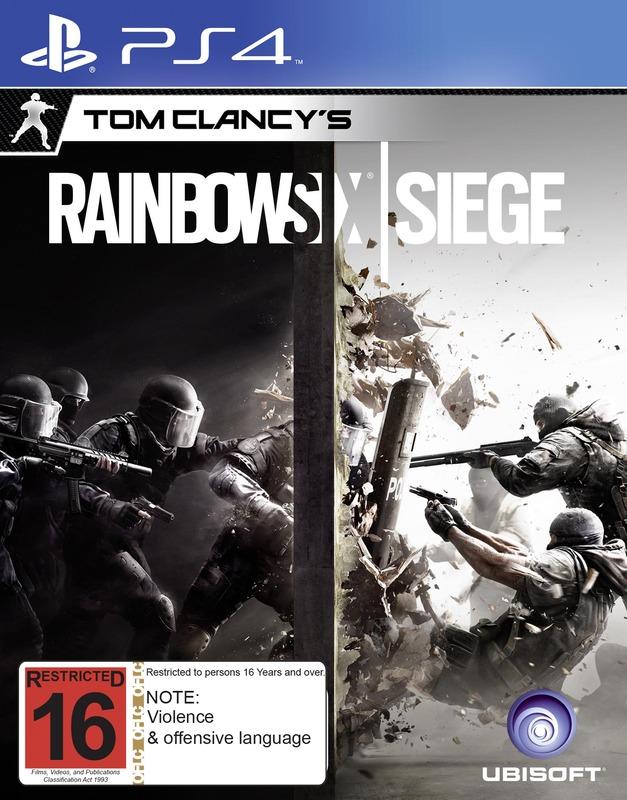 Tom Clancy's Rainbow 6 Siege for PS4