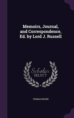 Memoirs, Journal, and Correspondence, Ed. by Lord J. Russell by Thomas Moore image