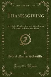 Thanksgiving by Robert Haven Schauffler image